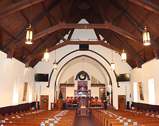 Grace Paseo interior sanctuary